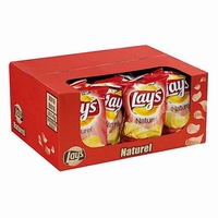 Lay's chips naturel doos 20x40 gram